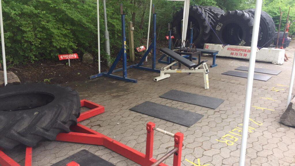 Udendørs roskilde atlet klub udstyr