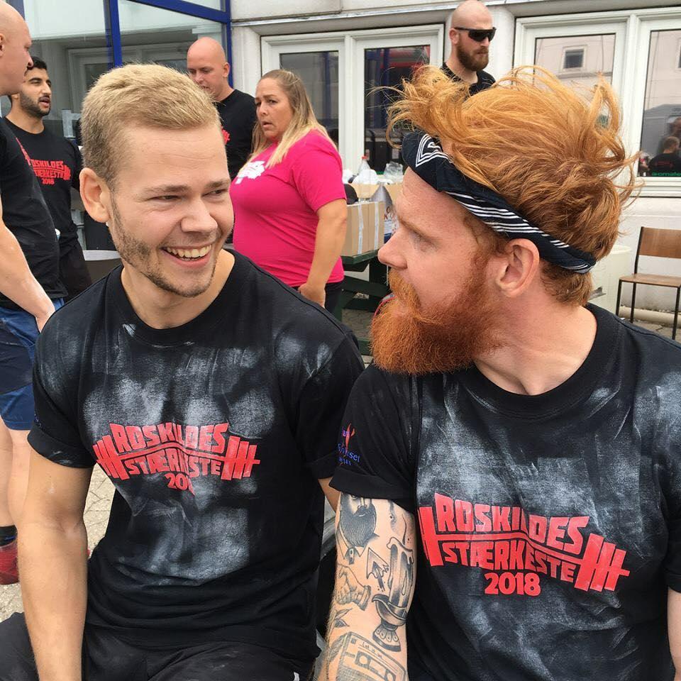Stærkmands konkurrence Jesper og Nikolaj